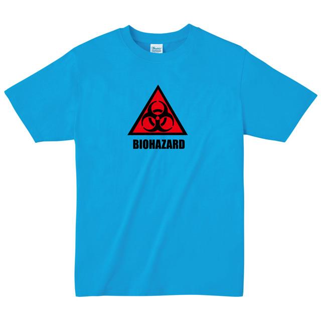 バイオハザードマーク Tシャツ biohazard