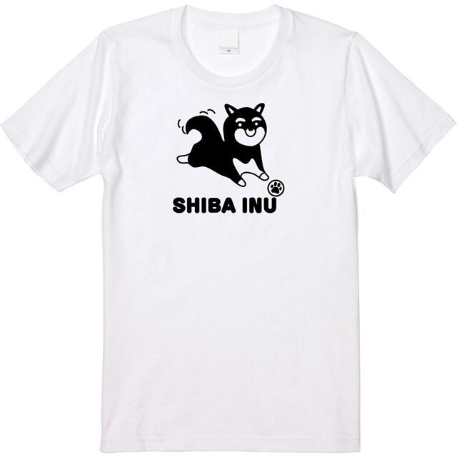 Tシャツ 柴犬 七分袖 オリジナル レディース ファッション
