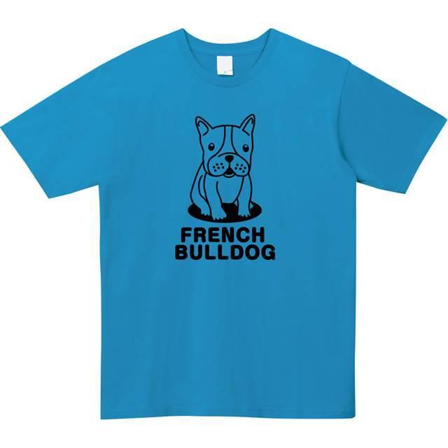 フレンチブルドック 犬 オリジナル Tシャツ 長袖 レディースファッション 通販 エナー
