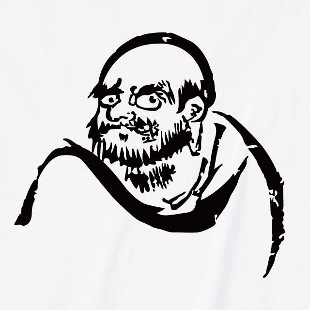 達磨大師 プリントTシャツ 和柄 オリジナル