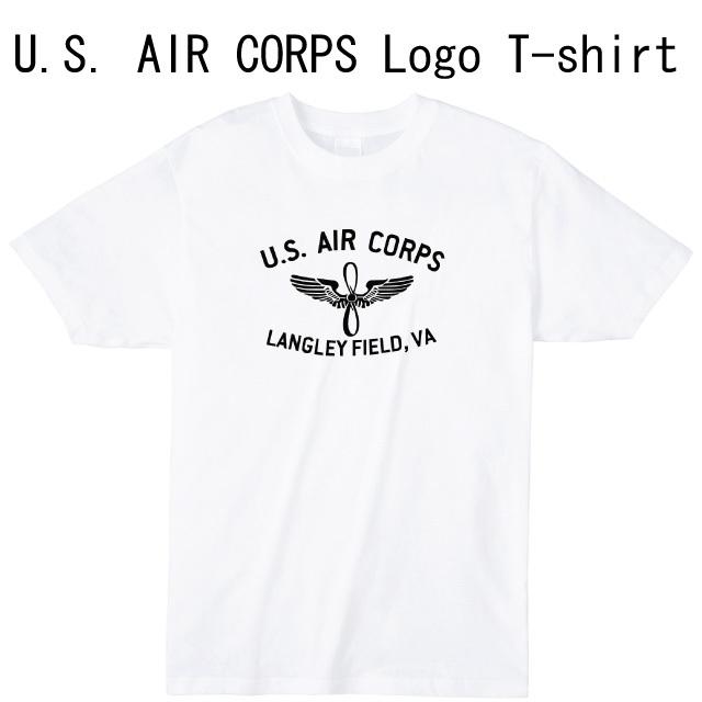U.S. AIR CORPS ロゴTシャツ ミリタリー 米軍 ファッション