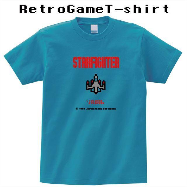 レトロゲームプリントTシャツ オリジナル