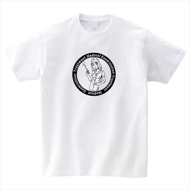 セクシーナースTシャツ 半袖 トップス おもしろ ナース アメコミ オリジナル メンズ レディース