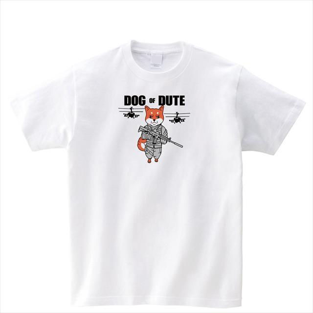 ミリタリー 柴犬 Tシャツ キャラクター ロゴ ミリタリー アニマル おもしろ レディース メンズ