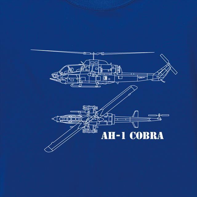AH-1 コブラ ミリタリー ヘリコプター 吸汗速乾 ドライTシャツ レディース メンズ スポーツウェア