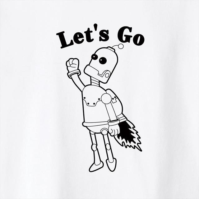 ロボット プリントTシャツ おもしろ キャラクター アメコミ オリジナル