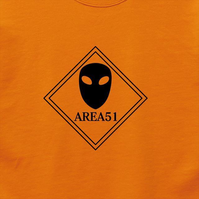 AREA51ロゴプリントスウェット UFO メンズ レディース