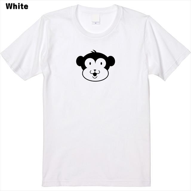 お猿さんロゴプリントTシャツ メンズ レディース