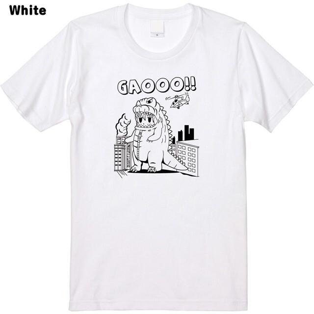 ガオーロゴプリントTシャツ
