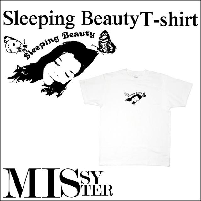 眠れる森の美女 プリントTシャツ