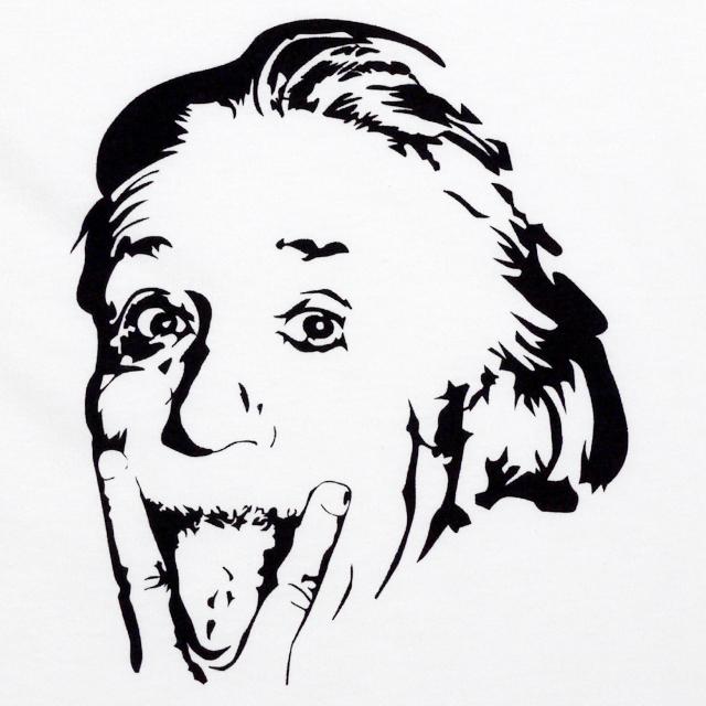 天才博士 アインシュタイン 博士 MISSY MISTER プリント Tシャツ