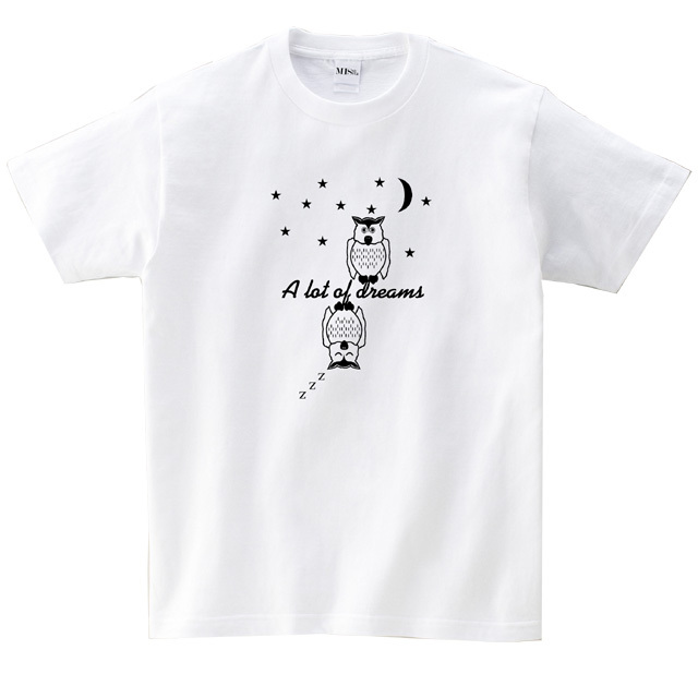 フクロウ MISSY MISTER Tシャツ