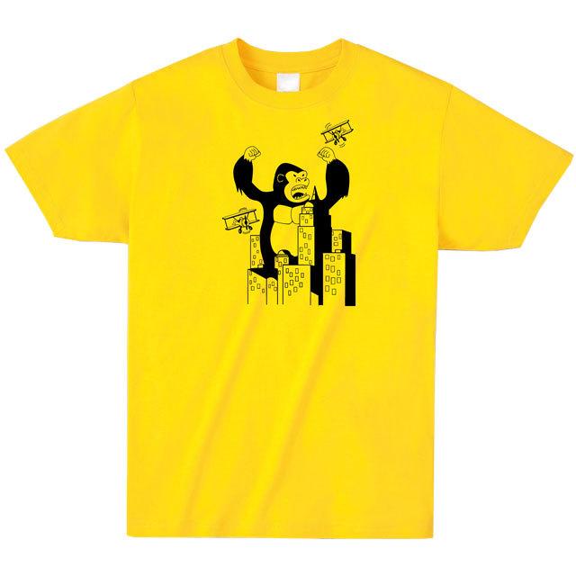 キングコングプリントTシャツ
