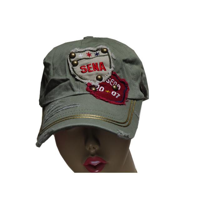 カジュアル ダメージ ビンテージ ベースボール ワッペン クール 帽子 キャップ