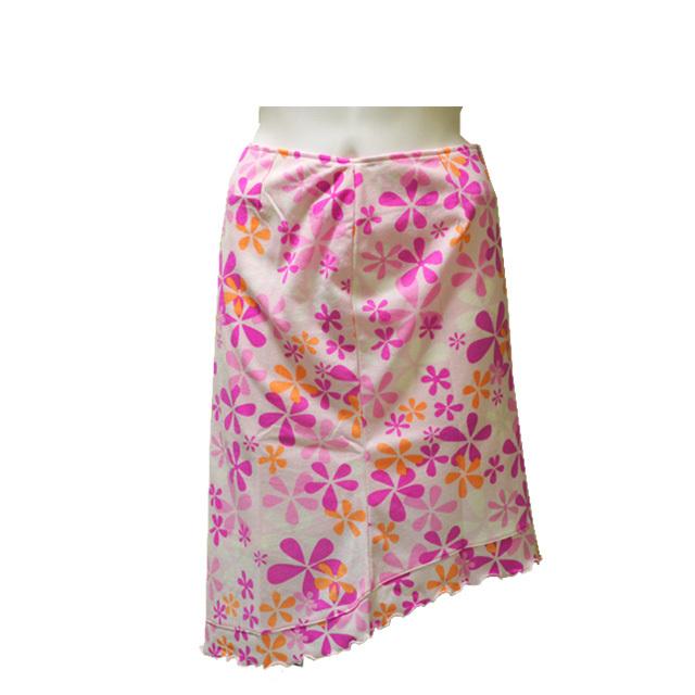 斜め裾花柄スカート リゾート ビーチ 通販