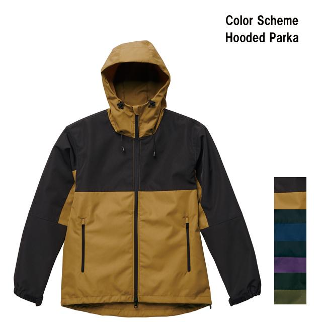 配色フード付きパーカー アウトドア 撥水性 男女兼用 アウター 秋冬 ジャケット 大きいサイズ有