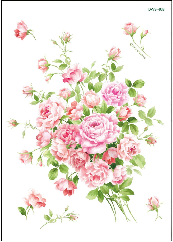 ブライダルピンクのバラのブーケ