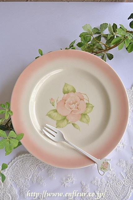 リンディ ボヌール 陶器 ケーキプレート