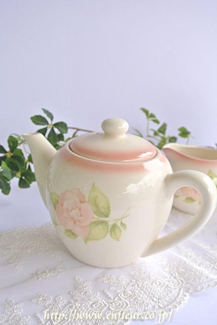 リンディ ボヌール 陶器 ティーポット