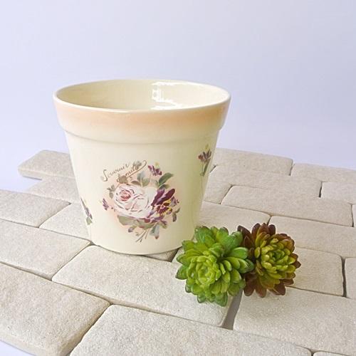 マニー  スーヴ・ニール・ダミティエ 陶器 プランターS