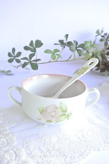 リンディ ボヌール 両手スープカップ