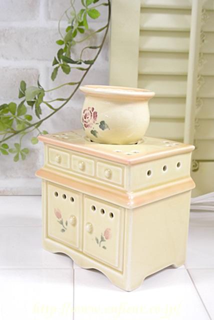 マニー ローズ陶器 アロマライト