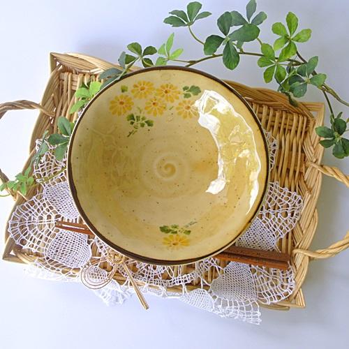 マニー クリザンテーム 陶器 平鉢