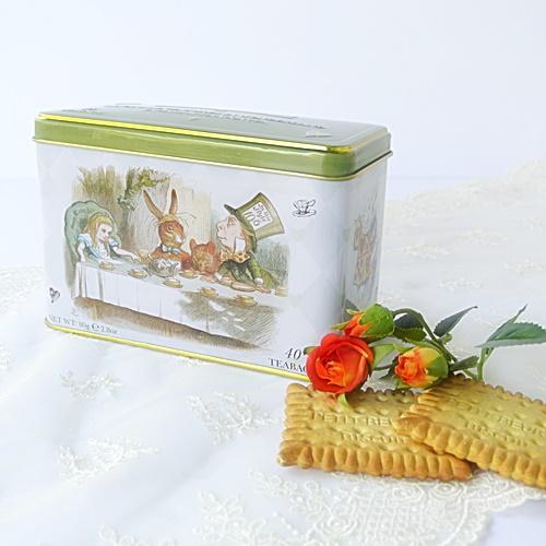 NEW ENGLISH TEAS アリス缶 紅茶