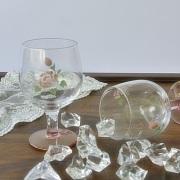 マニー ローズガラス アペリティフグラス