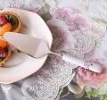 マニー ローズ陶器 陶器ハンドル ケーキサーバー