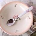 マニー ローズ陶器 陶器ハンドル ディナースプーン