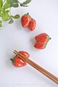 マニー 箸置き・イチゴ