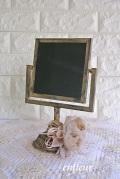 グランシュマン アンティーク調卓上黒板 正方形