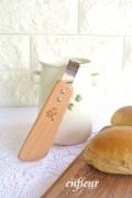 マニー 木製キッチンツール テーブルトング