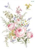 バラと水仙たちのブーケ