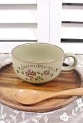 マニー セゾンドローズ 陶器 スープカップ