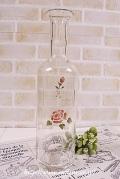マニー ローズガラス ボトルL
