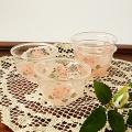 マニー ローズガラス 耐熱ガラスミニカップ