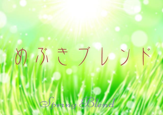 めぶきブレンド/期間限定 【春のブレンド】