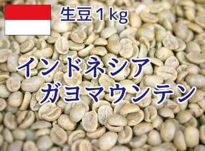 【生豆】 インドネシア ガヨマウンテン1kg