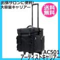【送料無料】 アーティストキャリアー AC501 出張サロンに便利な大容量キャリアー (コスメケース・メイクボックス)