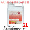 ピュアソン サロン専用洗剤 キレイキーパーシリーズ パイプ&洗濯槽クリーナー 2L (カビ・髪の毛詰まり・悪臭) 排水管の悩みに!