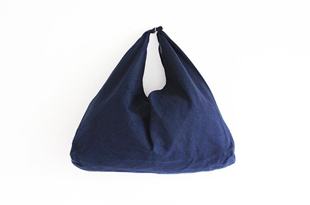 エンニチ あずま袋 紺色