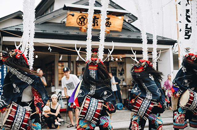 手拭い 鹿踊 縦糸横糸合同会社 京屋染物店