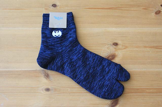 京屋×Tabio コラボ靴下 メンズ 足袋ショートソックス