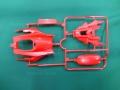 T0955 タミヤ アフターパーツ DCR-01 (デクロス-01) ボディ(プリズムレッド)
