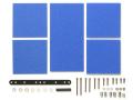 T15512 タミヤ ブレーキスポンジセット(マイルド 1/2/3mm ブルー)