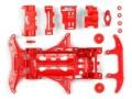 T95354 タミヤ ミニ四駆 強化VSシャーシ(レッド)
