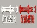 T94828 タミヤ スーパーTZ-X 強化シャーシセット(ホワイト/レッド)【ミニ四駆限定】