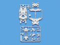 T95246 タミヤ MS強化シャーシセット(ホワイト)
